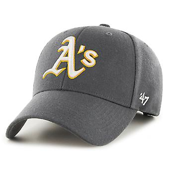 47 Brand Relaxed Fit Cap - MVP Oakland Athletics charcoal