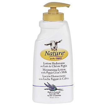 Canus Goats Milk Moisturizing Lotion with Fresh Goat's Milk, Lavender Oil