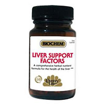 Country Life Liver Support Factors, 100 Tabs