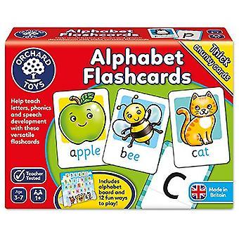Orchard legetøj alfabet Flashcards
