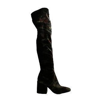 Kenneth Cole New York Womens QUENTIN Fabric Fechado dedo do dedo do joelho botas de moda
