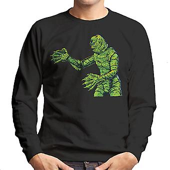 Creature From The Black Lagoon Side Monster Men's Sweatshirt
