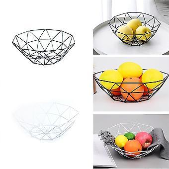 Ciotola contenitore cestino filo metallico - Cremagliera di scarico cucina utilizzata per frutta, verdura