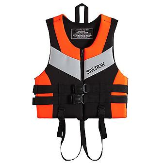 Life Safety Vest Jacket For Water Sports, Fishing, Boating, Swimming, Drifting