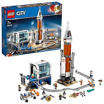 Lego 60228 city deep space rocket and launch control mars expedition set, space toys for kids inspir