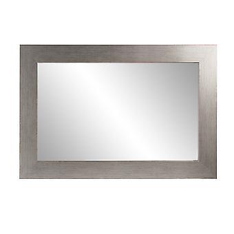 Miroir de mur de vanité encadré de grain inoxydable 22''X 32'&apos ;