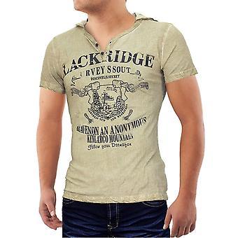 Menn rik Island T-Shirt v strekk Polo skjorte slank slanke passer hette