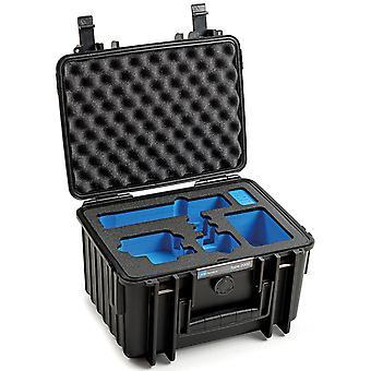 B&W GoPro Case Typ 2000 für GoPro Hero 9/10 mit Schaumstoffeinsatz, Schwarz