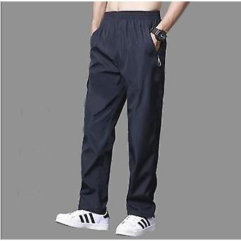 Pants Men Easy Cuffless Trousers Joggers Pants Streetwear Pantalon Hombre