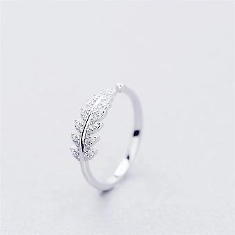 Sweet Branch Leaf Ring