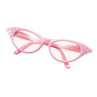 Bristol nowość ba142p 50&s okulary w stylu kobiecym, damskie, różowe, jeden rozmiar
