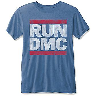Run Dmc Vintage Logo Official Tee T-Shirt Mens Unisex