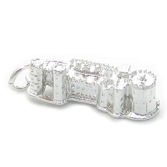 Château de Windsor Sterling Silver Charm .925 X 1 Châteaux royaux britanniques - 4612