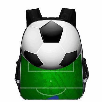3d Ice Soccerly Ball Print Bagpack