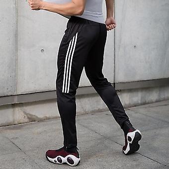 Pantaloni de fitness Menăs Pantaloni de alergare, Pantaloni de trening pentru antrenamente de fotbal de vară