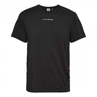 G-Star Sport Logo Tape Slim T-Shirt Black D19369