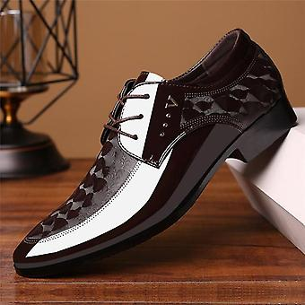 Men's Lace-up Breathable Formal Office Shoes