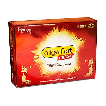 Aligelfort energy 10 vials of 10ml