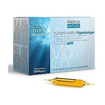 Hypertonic Sea Water 30 ampoules of 10ml