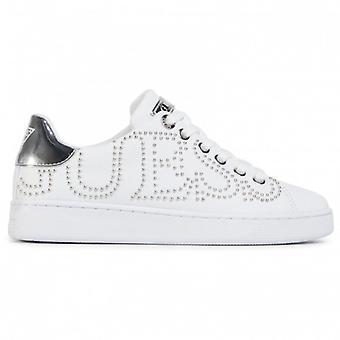 Shoes Women's Sneaker Guess Mod. White Razz/ Silver D21gu23