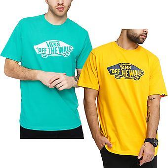 Vans Mens Off The Wall Crew Neck Cotton T-Shirt Tee Top