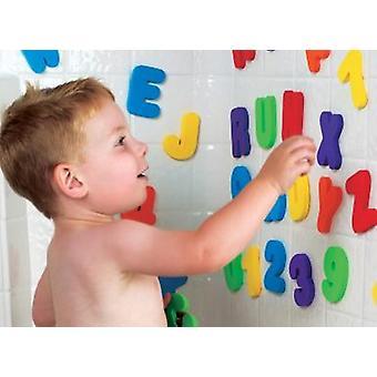 Munchkin bad bokstaver og tall