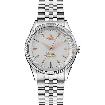 Vivienne Westwood Vv240slsl Seymour Rose Gold & Silver Stainless Steel Ladies Watch