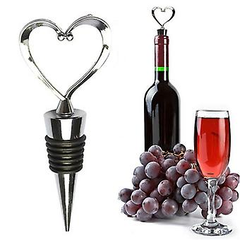 Heart Shaped Red Wine Champagne Bottle Stopper