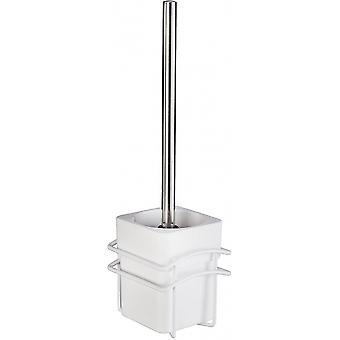 toiletborstel Classic Plus 10,5 x 37,5 cm rvs wit