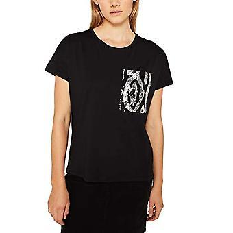 edc av Esprit 119CC1K009 T-Shirt, 001/black, M Kvinna