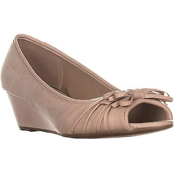 Charter Club Womens Canikka Suede Closed Toe Casual Platform Sandals