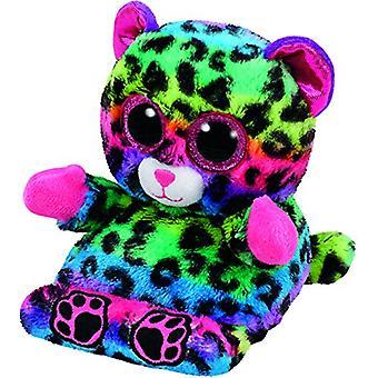 TY Peek-A-Boo Phone Holder Lance The Leopard