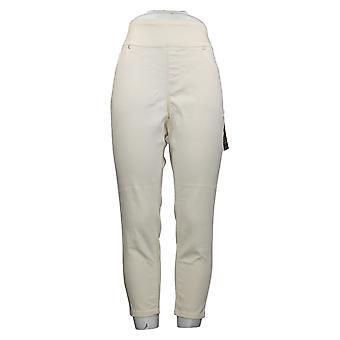 DG2 di Diane Gilman Jeans Donna Petite Skinny Jegging Ivory 733923