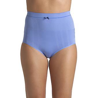 Camille Женщины Две упаковки Синий Шов Свободный Высокая талия Форма Одежда Контрольные трусы