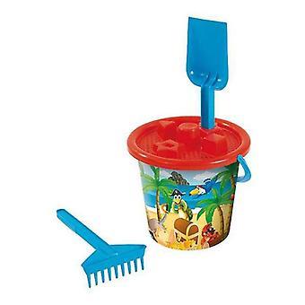 Beach Bucket AVC Pirates (Ø 20 cm)