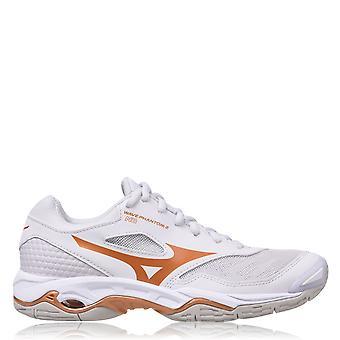 Mizuno Womens Wave Phantom 2 Entrenadores de Netball Entrenamiento Deportivo Air Mesh Shoes