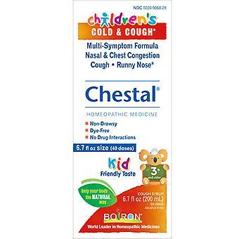 Boiron barns brösthosta och förkylning, 6,7 fl oz