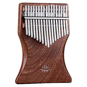 كاليمبا مفتاح الجوز، لوحة مفاتيح الشكل مجعد، الإبهام البيانو شامبر، الموسيقية