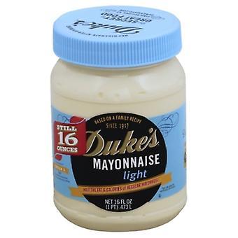 Duke's Real Mayonnaise Light 16 oz Jar