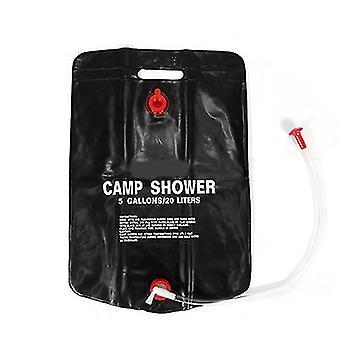 Tragbare 20L Solar Camping Duschtasche Outdoor Wanderzelt Heizung Bad Wassertasche
