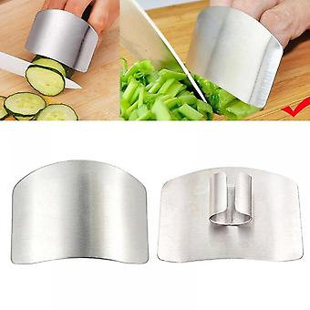 Stainless Steel Kitchen Tool Hand Finger Protector Knife Cut Slice