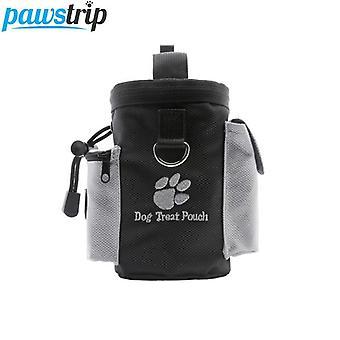 في الهواء الطلق الحيوانات الأليفة الكلب علاج الحقيبة، والتدريب والحيوانات الأليفة حاوية الغذاء