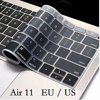 2Pcs keyboard protector skin for macbook  keyboard cover soft silicon