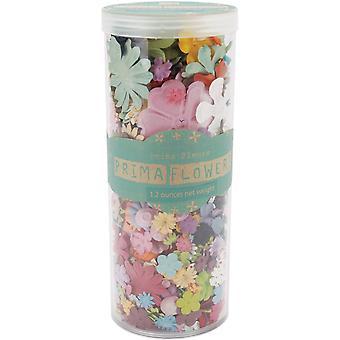 Prima Marketing Mulberry Paper Petals Pillar 1.2oz - Mixed Wildflowers