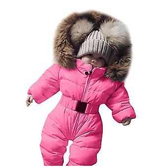 Iarna cald cu glugă Romper Jacheta
