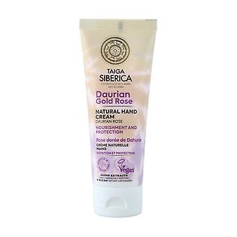 Natural Hand Cream Nutrition and Protection 75 ml of cream