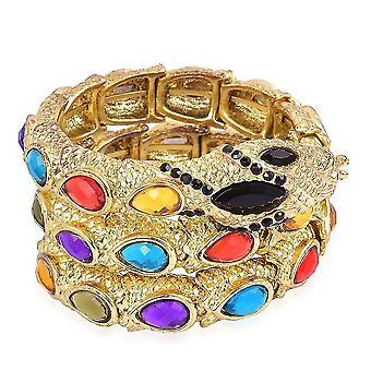TJC Snake Armband voor Dames 7 '' Multiple Gemstone Animal Lover Gift 0.001ct