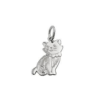 Pendant Cat Polished Silver 925 39868 39868 39868