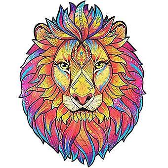 Puzzle en bois Puzzle Mystérieux Lion