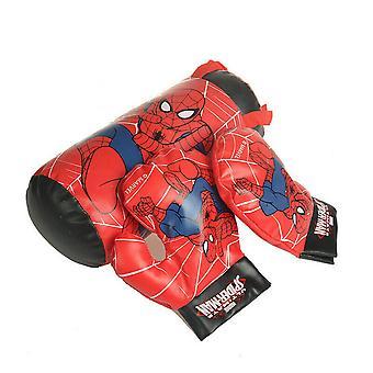 Kinder Jungen Spiderman Box Tasche Handschuhe Punching Set Spielzeug Weihnachten Geschenk